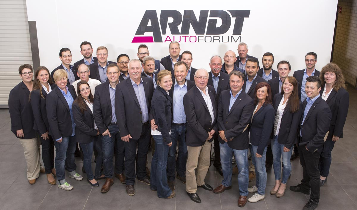 Arndt Automobile GmbH, Team