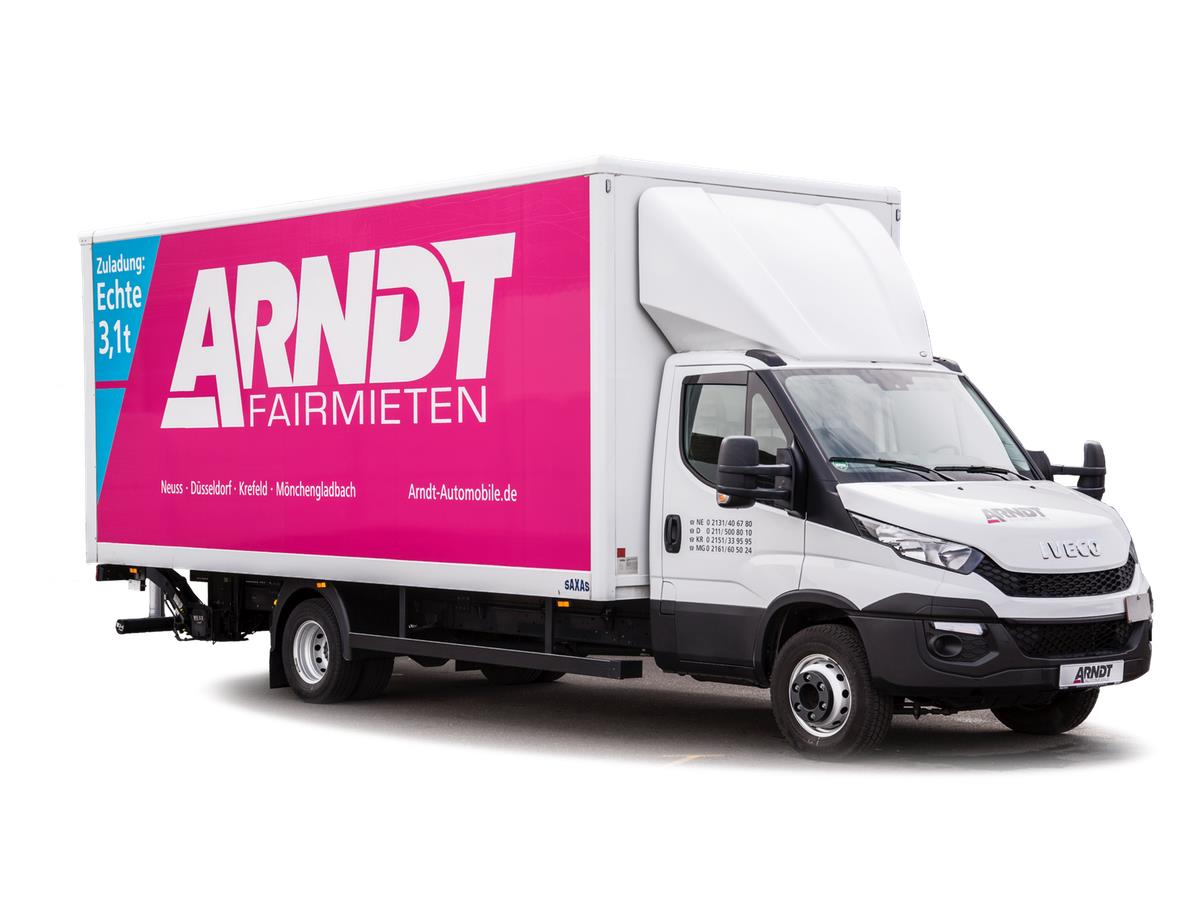 Iveco Daily Koffer LDW oder ähnlich (LKW Gruppe 37)